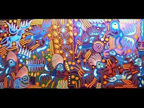 Huichol indian art