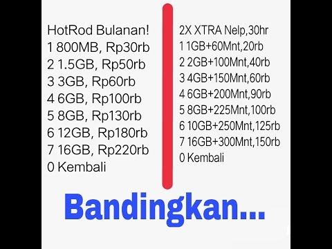 Youtube harga paket internet murah xl