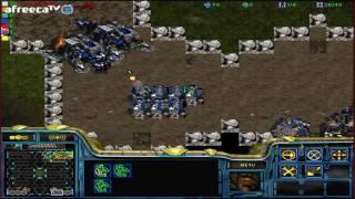 스타크래프트 유즈맵 [사장맨과 살아남기 #1]Survive(Starcraft use map)