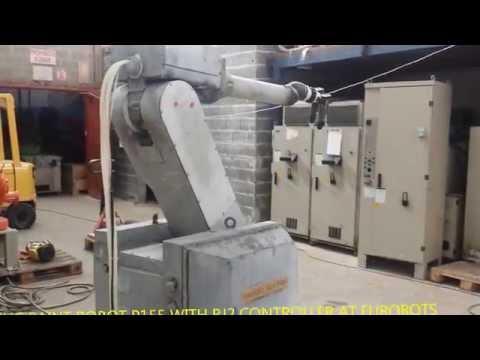 FANUC P155 PAINT ROBOT WITH RJ2 CONTROLLER AT EUROBOTS