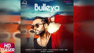 Bulleya | Teaser | Puneet Gulati | BOB | Releasing on 17th Feb 2018 | Speed Records