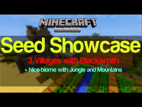 Minecraft Xbox 360 | TU12 Seed Showcase | 3 Villages w/ Blacksmith
