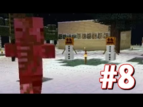 "Minecraft | ""DEFENDING THE BASE WITH SNOW GOLEMS"" 