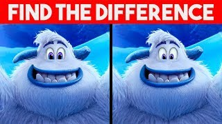 ONLY GENIUS CAN FIND THE DIFFFERENCE! | 100% FAIL | SMALLFOOT Movie Puzzle