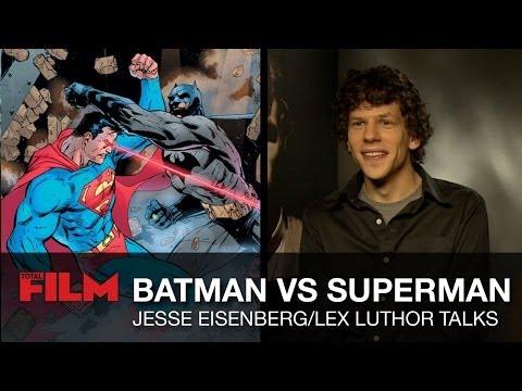 Jesse Eisenberg talks Batman vs Superman / Man of Steel 2