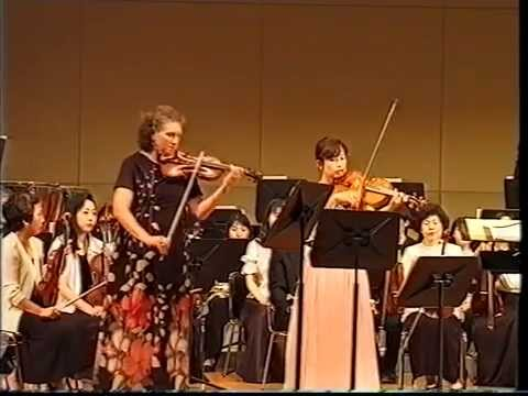Jela Spitkova in Japan , viola - Yasue Miyauchi