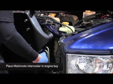 How To Install: Mishimoto 2003-2009 Dodge Cummins 5.9L & 6.7L Intercooler & Pipe Kit