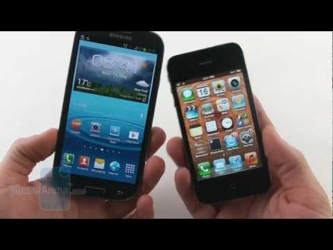 Samsung Galaxy S III vs Apple iPhone 4S Music Videos