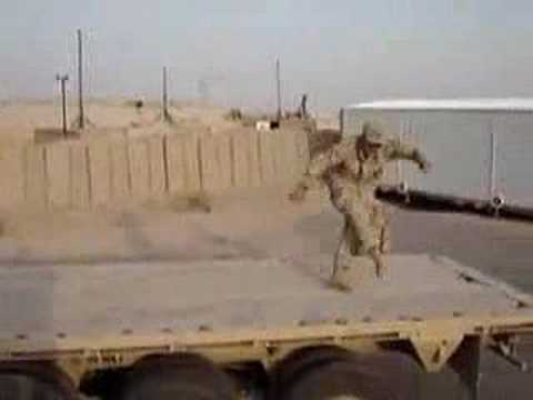 Dancing in Iraq  I Love the Way You Move  Outkast