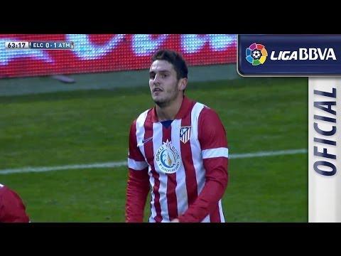 Gol de Koke (0-1) en el Elche CF - Atlético de Madrid - HD
