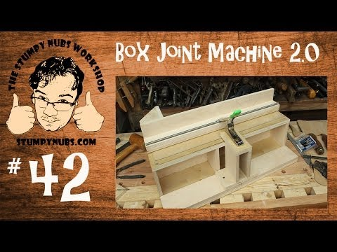 SNW42- New Box/Finger Joint Jig with Incra positioner style teeth