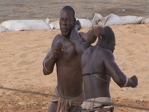 Senegalese wrestling, la Lutte