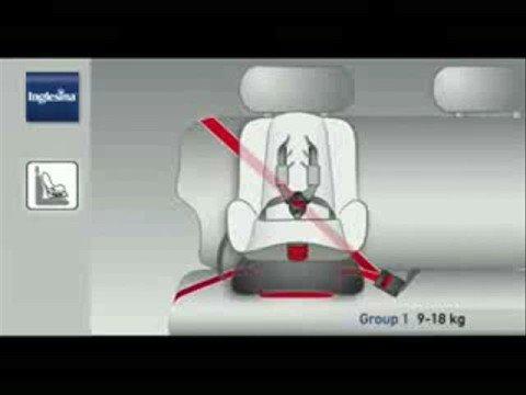 Si ge auto moovy inglesina bimbomarket youtube for Sillas para ninos para el coche