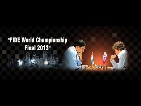 Game 1 - Viswanthan Anand vs Magnus Carlsen | FIDE World Chess Championship