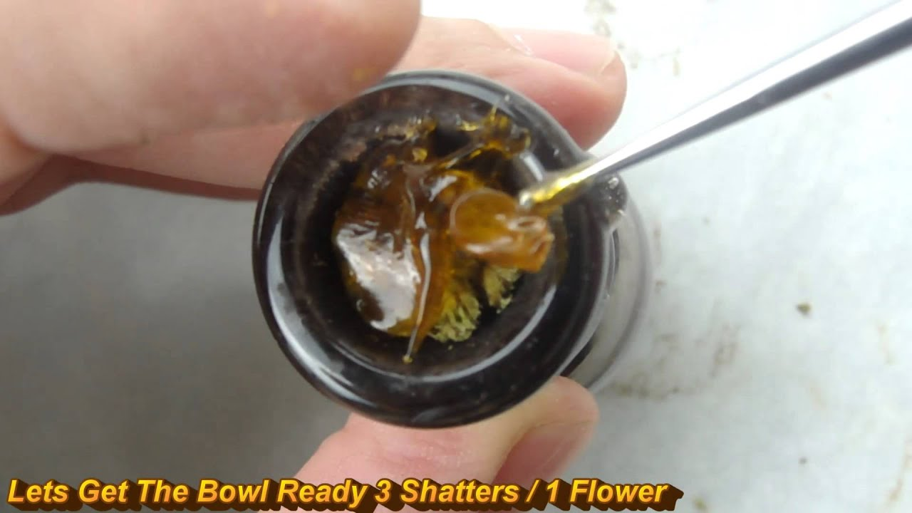 Fat Dabs On OG Kush - Gold  Dabs Shatter
