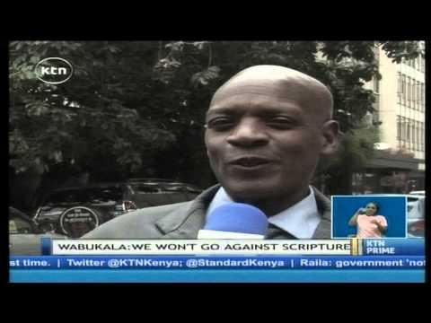 Kenyan ACK Bishiop Eliud Wabukala oppose the chance for women to be ordained as Bishops