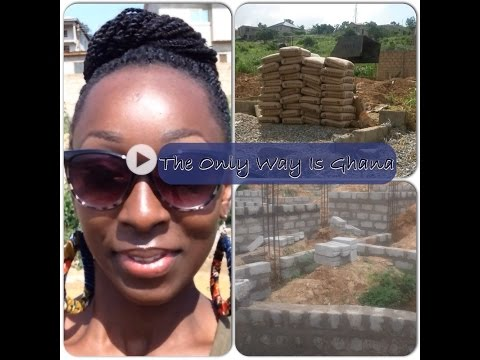 Building Project in Ghana update
