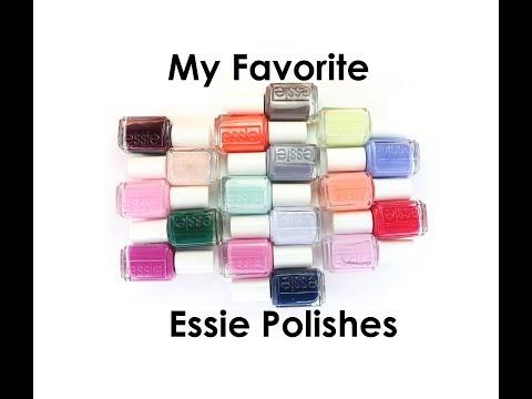 My Favorite Essie Polishes!