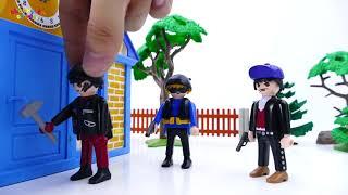 Đồ Chơi Siêu Nhân Người Nhện Bắt Cướp   Bé Ở Nhà Một Mình - Cau Chuyen Do Choi -
