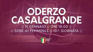 Serie A1F [10^]: Oderzo - Casalgrande 29-30