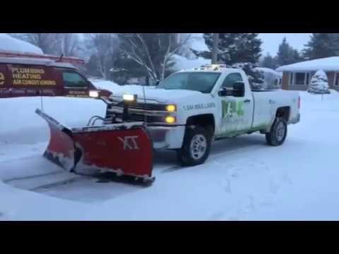 Residential Snow Plowing Sudbury Maximum Lawn Care