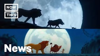 How 'The Lion King' Live-Action Trailers Syncs Up With the Original Animation   NowThis