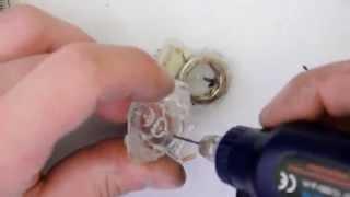 Peugeot 206 tachometer servo repair.