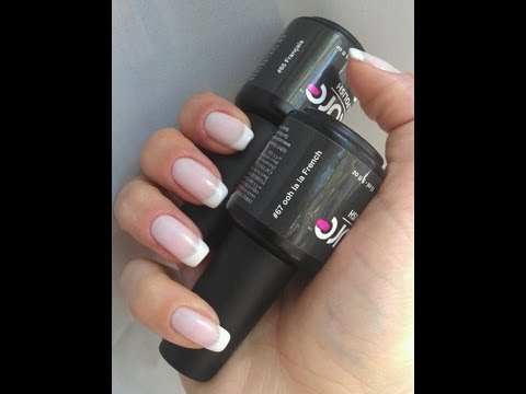 DIY French Manicure with Gel Nail Polish