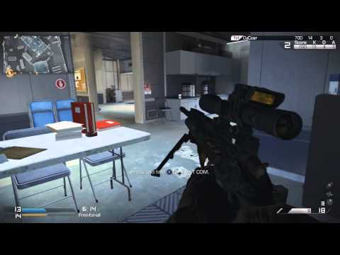 **NEW** Call of Duty GHOSTS: USR FFA - Sniping 1st Impressions