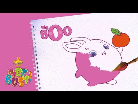 BRAND NEW - SUNNY BUNNIES | Drawing Big Boo 2 | Arts & Crafts | Cartoons for Kids