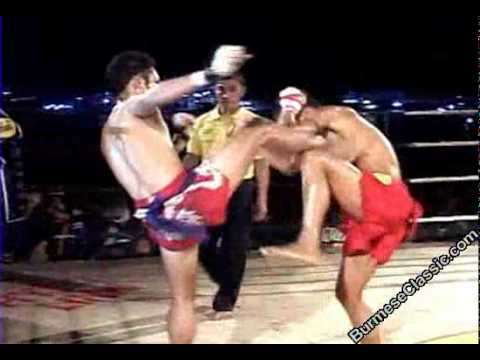 K1 Amazing Myanmar Lethwei vs Muay Thai (Myanmar Traditional Boxing)