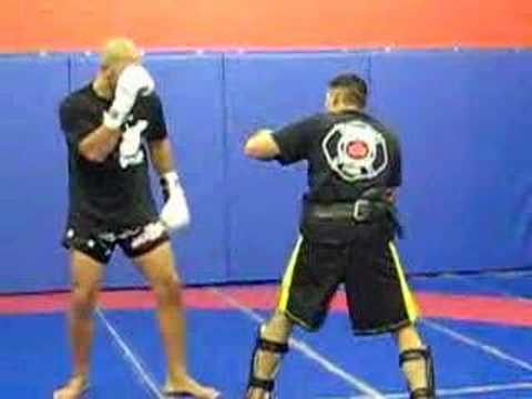 Brandon Vera training at Ultimate Martial Arts Image 1
