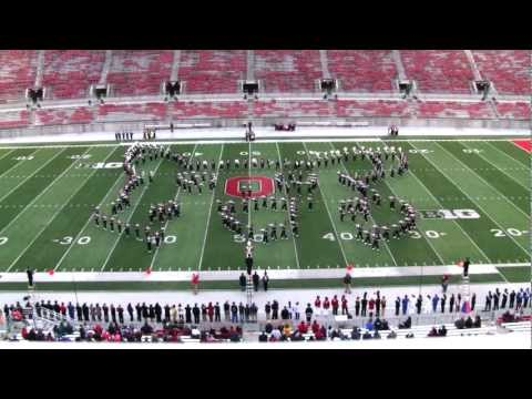 Ohio State University Marching Band - VIDEO GAMES New - Buckeye Band Invitational 10-13-2012