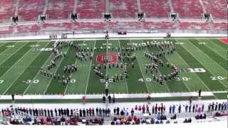 Ohio State University Marching Band - VIDEO GAMES New - Buckeye Band Invitational 10-13-2012