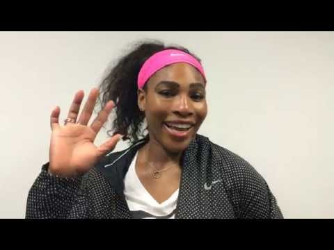 2015 Australian Open Champion Serena Williams Fan Message