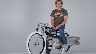 RocketMan:  Test run Jet bike.