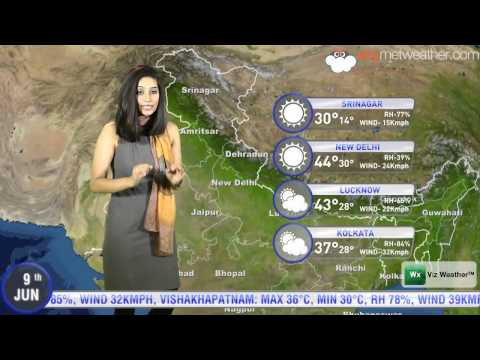 09/06/14 Skymet Weather Report For India