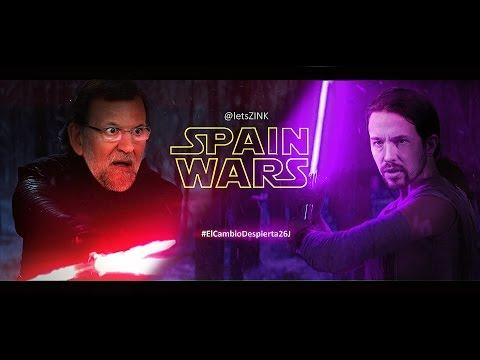 RAJOY Y EL FIN DEL IMPPERIO - SPAIN WARS 26J #ElCambioDespierta26J