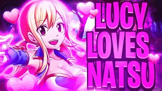 Download Is Lucy Heartfilia Secretly In Love With Natsu Dragneel!? 3Gp Mp4
