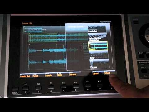 Fantom G - Song Mixdown