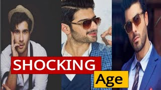 Shocking age of pakistani male celebrities. #lollywood