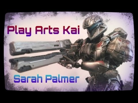 Play Arts Kai Halo 4 Spartan Sarah Palmer review