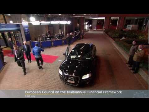 Special European Council on EU Budget 22 November 2012 (Day 1) - bilaterals and roundtable