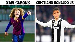 Skills of Popular Athletes' Kids