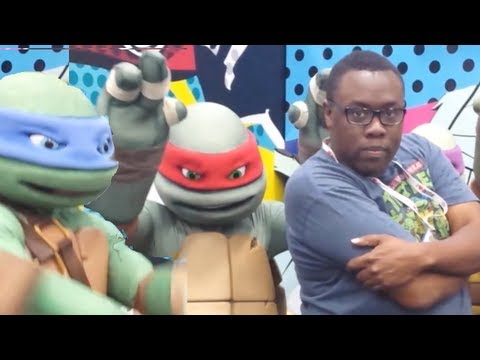 NINJA TURTLES THEME SONG with the NINJA TURTLES! : Black Nerd