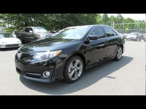 2012 Toyota Camry SE V6 Start Up. Exhaust. and In Depth Review
