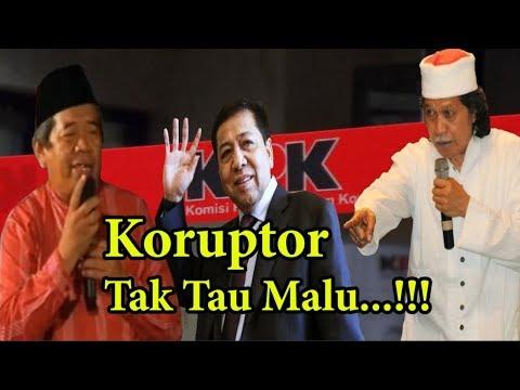 Cak Nun Dan Puisi Mustofa W Hasyim - Setya Novanto Koruptor Tidak Tau Malu...!!!