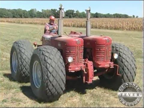 International Harvester 400 Diesel Twin Engine Garrett Tractor - Classic Tractor Fever