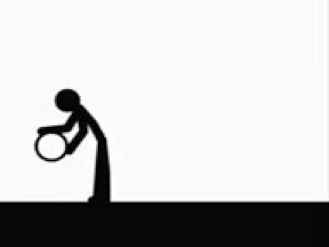 Clip Art Running Stick Figure. Stick em Up Pivot Stick