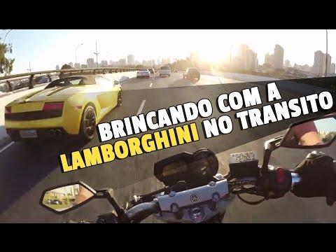 IBRAH DA FZ6 - BRINCANDO COM A LAMBORGHINI